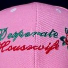 Desperate Housewife Baseball Hat House Wives Red Rose Embroidered Pink Cap New