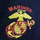US Marines Marine Corp Military Red Gold Navy Hooded Sweatshirt Unisex 2XL New