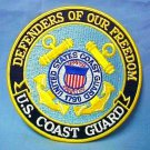 """US Coast Guard Patch USCG Defenders Hero Embroidered 5"""" Chest Shoulder New"""