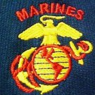 US Marines Baseball Hat Navy Corded Embroidered Cap Anchor Eagle Globe Logo New