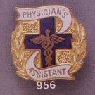Physician's Assistant Insignia Medical Emblem Pin 956