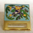 ID Badge Holder Monkey Banana Ribbon Pin Tac Prestige Medical Retired New