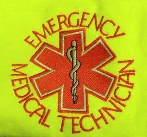 EMT T Shirt 3XL Emergency Medical Technician Safety Green Short Sleeve Blend New