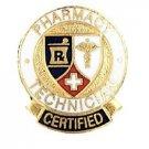 Pharmacy Technician Certified Lapel Pin Professional Medical Emblem Graduation
