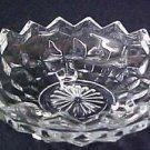 Jeannette Cube Depression Glass Footed Candy Dish Collectibles
