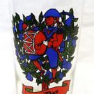 Vintage Indiana American Glass 12 Days of Christmas Beverage Glass 9th Day