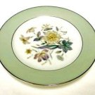 4 Noritake Bone China Mint Green Shasta Floral Salad Side Plates 5305 Japan