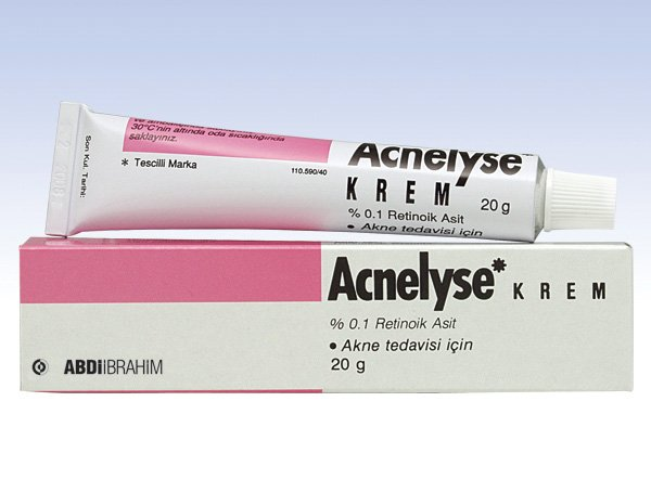 Acnelyse Cream Treatment of Acne,Wrinkle Stretch Marks,Black Spot,Psoriasis 20g