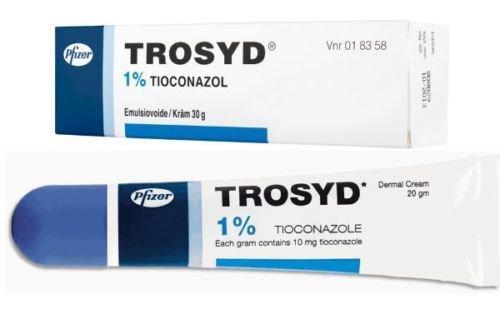 TROSYD % 1 TİOCONAZOLE ANTIFUNGAL SKIN CREAM BY PFIZER 20 G