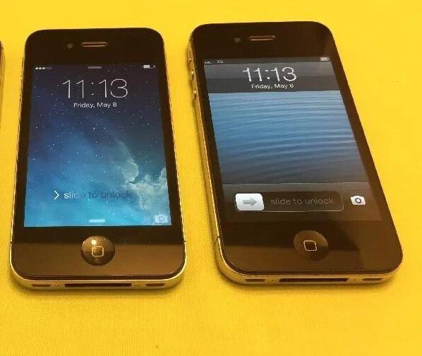 Apple iPhone 4 - 8GB - Black (Verizon) Smartphone (MD439LL/A) Clean ESN