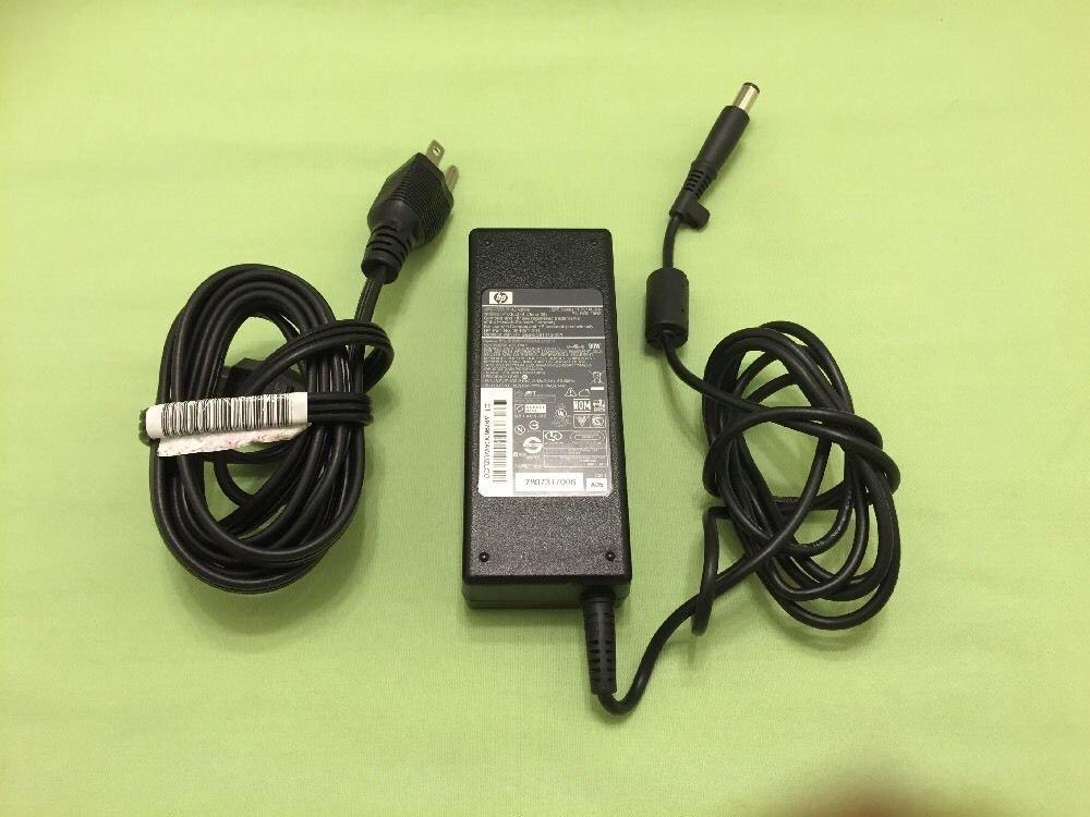 Genuine OEM HP Compaq 90W AC PowerAdapter Charger Series PPP014L-SA PA-1900-18H2