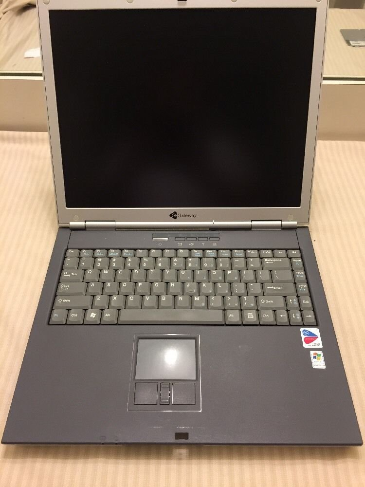 Gateway Laptop Model 450ROG 1GB RAM/No HDD/No OS/Parts or Repairs ONLY