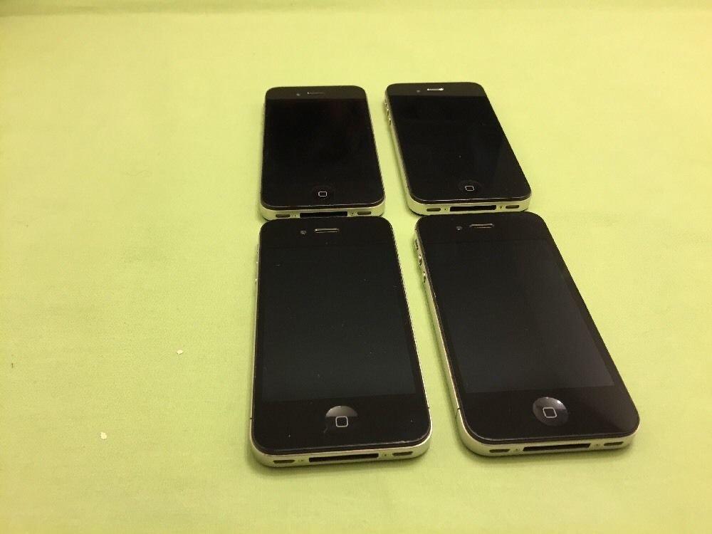 Apple iPhone 4- 16GB - Black (Verizon) Smartphone **Read Description**