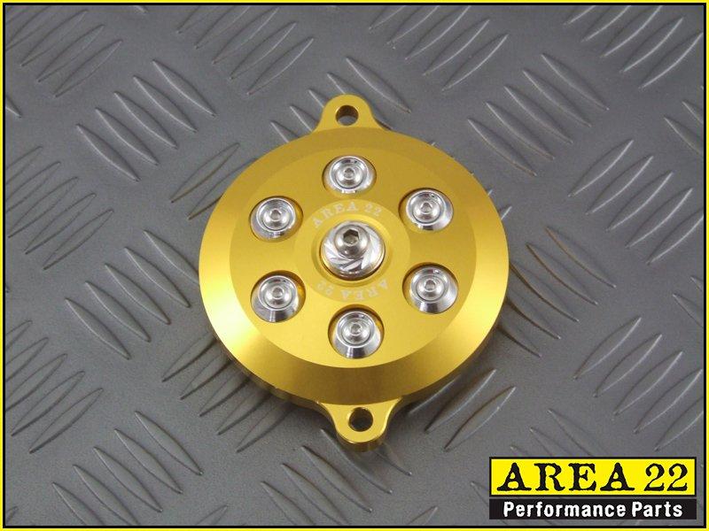 Area 22 2014 2015 Honda MSX125 Grom Cam Cover Engine Dress Up Gold