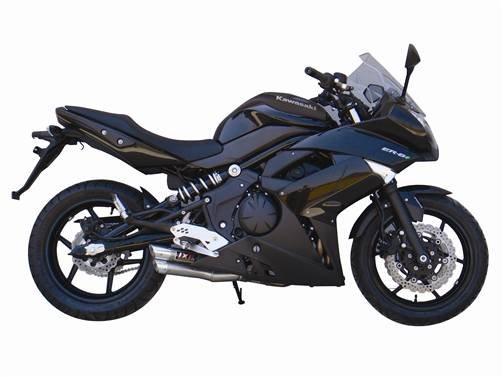 05-11 Kawasaki ER-6F Ninja 650R IXIL L3X Slip on Dual Hyperflow Exhaust Silencer