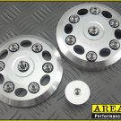 Area 22 2014 15 Honda MSX125 Grom CNC Aluminum Engine Cover Dress Up Set Silver