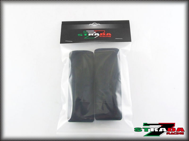 Strada 7 Motorcycle Foam Grip Covers for Ducati Diavel Carbon ABS Cromo