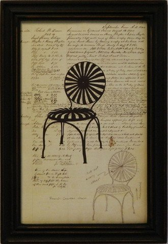 Silhouette Document Chair