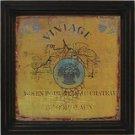 Vintage Wine Label IV