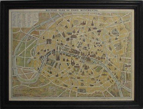Copy of Vintage Paris Map