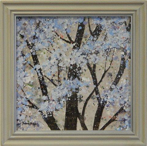 Seasonal Theme Tree Prints Winter