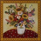 Rooster Vase Floral