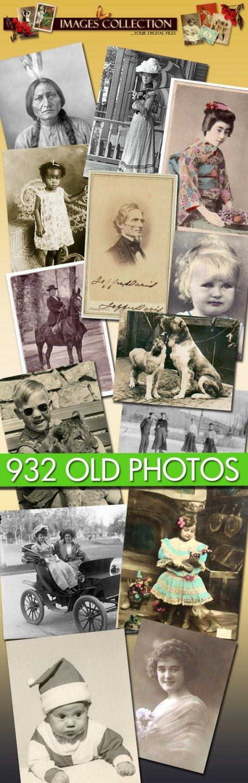 printable 932 Old Photos vintage print