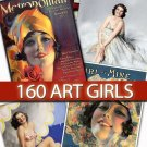 Art Girls of Rolf Armstrong - beauty pin up fashion romantic lady