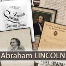 Abraham LINCOLN'  documents, 16th President of the United States