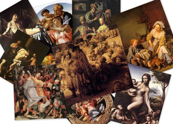 DVD Collection PAINTINGS & Fine ART from 1,500 Greatest Artist since 12th Century