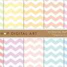 Digital Paper Chevron II Pastels
