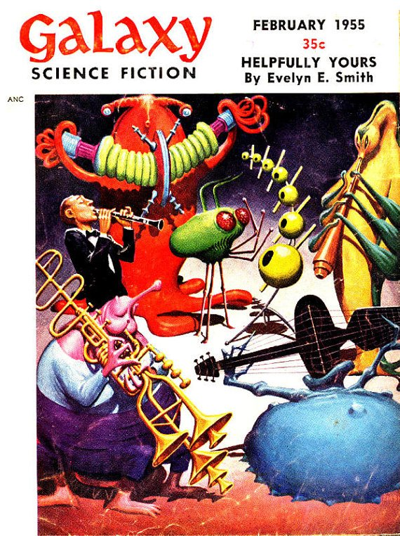 DVD Pulp Magazine GALAXY ScIeNcE FICTION Vol 2 -1950s Golden Age comics stories