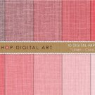 Digital Paper Linen-Coral Shades-Linen Texture BackgroundsingCollages