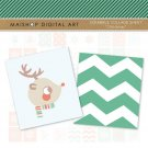 Scrabble Digital Collage Sheet Christmas