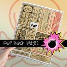 Vintage Apothecary Labels - Poison Labels - Pharmacy Labels vintage print
