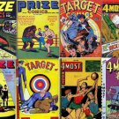 NOVELTY PRESS Comics DVD  Prize target 4 Most - Crestwood Publishing