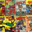 HEROIC WAR Stories Comics DVD  Golden Age - Fiction House Heroes Wings Dell