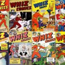 Fawcett WHIZ COMICS in DVD  Billy Batson Captain Marvel Shazam Mary junior