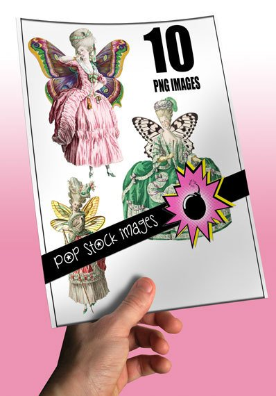 Marie Antoinette Style Fairy Img.