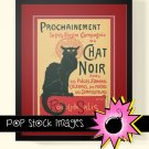 Le Chat Noir-19th Century French Cabaret Poster-Digital print Poster-Paris Cabaret Poster-Black Cat