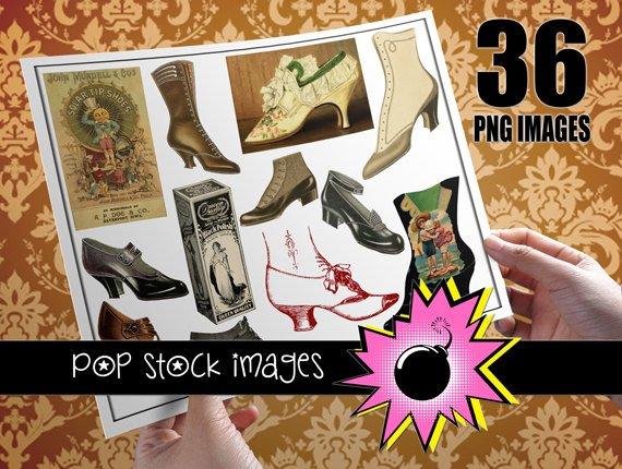 Vintage Women's Shoes - Digital Img. Women's Shoes & Shoe