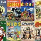 DVD Golden Age STORYBOOKS Comics Fairy Tales Fables Classics Stories-Dell 4C Ziff
