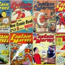 Fawcett CAPTAIN MARVEL Adventures Comics DVD  1940 Billy Batson