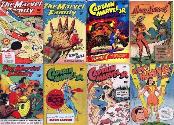 FAWCETT Captain MARVEL, Marvel Family, Mary Marvel Comics DVD (Golden Age vol 7)