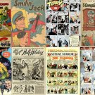 DVD Golden Age NEWS STRIPS Comics Joe Palooka BusterBrw Terry Pirates Spirit Newspaper