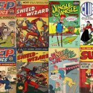 TEENAGE CARTOON Pep Comics DVD Golden Age Comics  Mlj Archie Shield Wizard