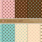 Digital Paper - Ice Cream Dots