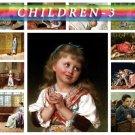 CHILDREN-3 260 vintage print