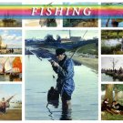 FISHING on 225 vintage print