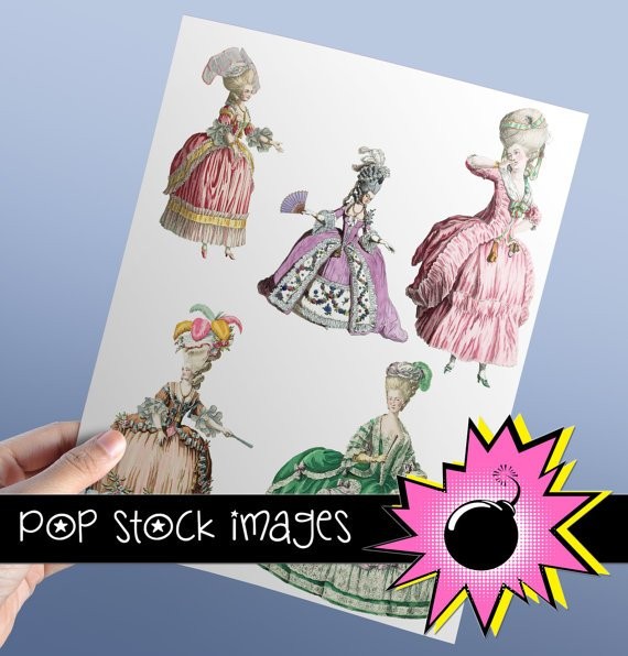 Marie Antoinette Style Image Collection